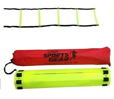5 Rung Speed Agility Ladder Soccer Football Fitness Feet Training 2 Meter