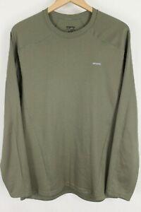 Patagonia Capilene 3 Midweight Shirt Men's Green Size Large Baselayer 44421