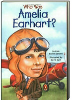 Who Was Amerlia Earhart? by Boehm Jerome (Paperback) FREE shipping $35