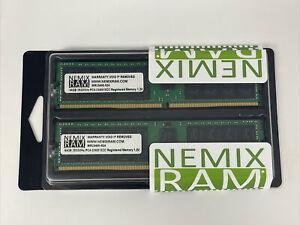 NEMIX RAM 128GB 2x64GB DDR4-2933 PC4-23400 2Rx8 ECC Unbuffered Memory