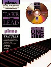 Take The Lead Number One Hits Piano Music Book & Play-Along CD 8 Great Songs S20