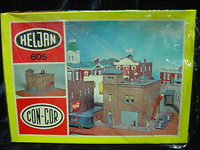 New N scale Heljan Fire Station kit  number 605