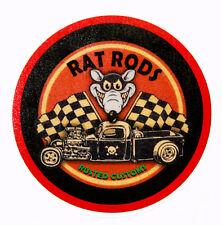 RAT ROD HOT ROD DECAL STICKER   ROCKABILLY   CHOPPER  BOBBER  TATTOO