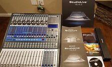 PreSonus 16.4.2 Studiolive Digital Mixer