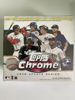 2020 Topps Chrome Update Mega Series Box Factory Sealed Fast Shipping