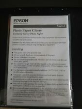 Epson photo paper glossy