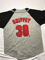 Vintage Cincinnati Reds Griffey Jersey 30 Mens XL NEW with tags
