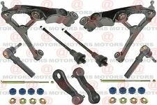 For Chevy TAHOE 01-04 Control Arm Ball Joint Tie Rods Sway Bar Pitman Idler Arm
