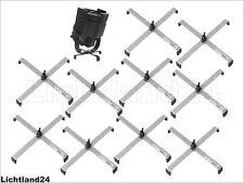 10er-Pack Bodenständer für Scheinwerfer FS-1 Floorstand, Stahl, silber bis 10 KG