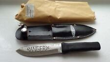 Rare Vintage Solingen Germany Hunting Dagger Finca Fixed in Leather Case