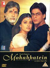 DVD- Mohabbatein (Love Stories)- Aditya Chopra- All region- India 2000-