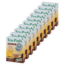 10 x Teepads Rooibush Vanille (geeignet für Senseo) 200 Pads! Tee