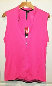 NEW Women SPECIALIZED RBX Jersey Top Shirt Sleeveless Pink MEDIUM M Cycling bike