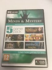 Pc hidden object games minds & mystery ( 5 game pack)