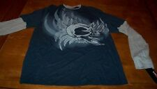TONY HAWK Skull Skate Boarding Long Sleeve T-Shirt LARGE NEW w/ TAG
