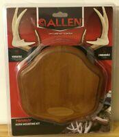 Allen Trophy Horn Antler Mounting Kit Hardware Included Engravable Deer 5601A