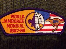 Mint 1987-88 World Jamboree JSP Mondial Purple Border