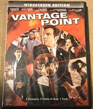 2008 Vantage Point DVD 90 Min Free Ship