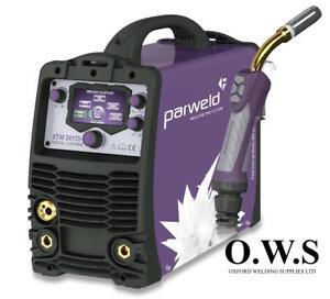 PARWELD XTM201Di P1 Digital Dual Voltage Multi Process Welding Machine 110/230v