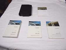 2009 LEXUS IS 350 / IS 250 OWNER MANUAL 4/PC.SET & LEXUS PREMIUM FACTORY CASE