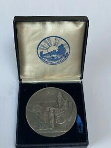 Iceland Medallic 1000 Years Althing Silver 10 Kronur 1930 UNC in Original Box