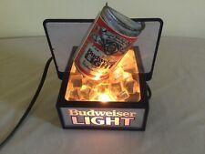 Budweiser Light Beer Can On Ice Light/Sign