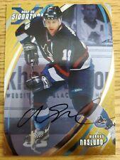 2002-03 BAP Signature Series Autographs Gold #31 Markus Naslund