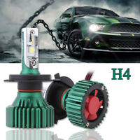 60W 16000LM H4 HB2 9003 LED Headlight Car Conversion Light Bulbs White CREE Chip