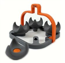 Egg Boiler Trivet Cookware Home Kitchen Cooking Rack Egg Cup Orange Silicone
