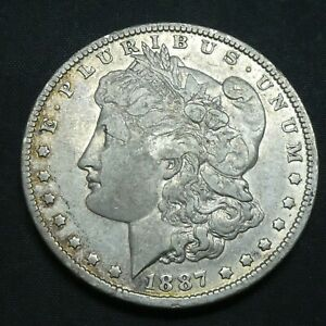 1887 O $1 Morgan Silver Dollar US Mint Coin