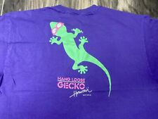 New listing Vintage Hang Loose Hawaii Gecko Single stitch T Shirt 90's Xl Made In Usa