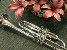 Bach Silver Plated TR-300 Student Model Trumpet, Excellent Condition! MSRP $1223