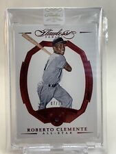 Roberto Clemente Panini Flawless RUBY All-Star Card #07/15