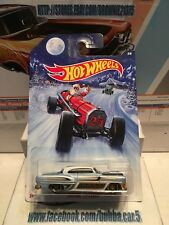 HOT WHEELS CUSTOM '53 CHEVY HOLIDAY HOT RODS WALMART EXCLUSIVE 5SP 1/64