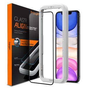 iPhone 11 11 Pro 11 Pro Max Glass Screen Protector Spigen®[AlignMaster] 2 PK