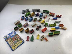 Thomas the Train & Friends Wooden/Metal Magnetic Trains & Brio Lot Bundle Extras