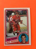 Steve Yzerman 1984-85 ROOKIE Topps Hockey Card #49  SEE PHOTOS