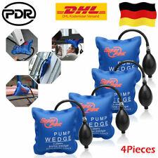4× PDR Amobag Luftkissen Montagehilfe für Fenster Türen Keil Luft Pump Wedge Set