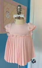 Janie And Jack Babygirl Dress Little Swan Line Size 0-3 Months