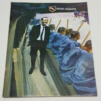 Vtg WHL Official Magazine 1971-72 Denver Spurs Hockey Season Sports Program Rare