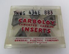 GE CARBOLOY TNMG 434 GRADE 883  CEMENTED CARBIDE INSERT *5 PCS*