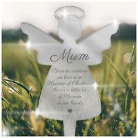 PERSONALISED Christmas Grave Memorial Plaque Graveside Decoration Mum Dad Nanny