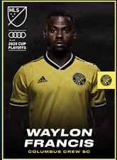 [DIGITAL CARD] Topps Kick - Waylon Francis - MLS 2020 Playoffs - Team Color