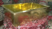 Handmade Hammered Brass Farmhouse Kitchen Sink