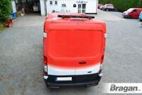 Rear Roof Beacon Light Bar + LEDs For Ford Transit MK8 2014+ BLACK Bar Steel Van