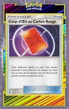 Coup d'Oeil au Carton Rouge - SL4 - 97/111 - Carte Pokemon Neuve Française