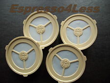 4 ECOPAD Refillable  SENSEO Coffee Filter Pads,pods - For PHILIPS MACHINES