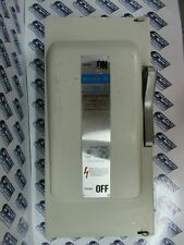Ite Gould F323 100 Amp 240 Volt 3ph 3w Fusible Vintage Disconnect Painted