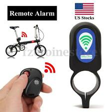Bicycle Cycling Security Lock Wireless Remote Control Vibration Alarm Anti-theft