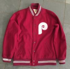 Rare Mitchell & Ness 1981 Philadelphia Phillies Wool Jacket sz 44 $450+
